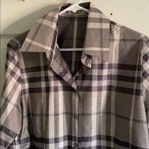 🦃thanksgiving sale🦃Burberry glitter dress shirt